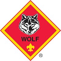 Wolf Rank Badge